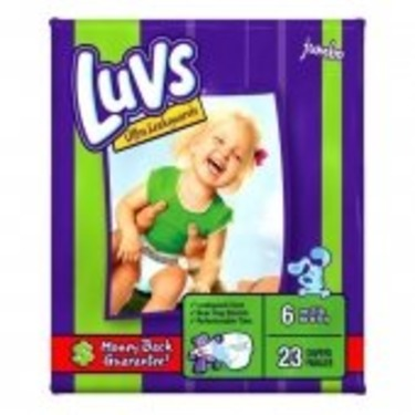 Luvs Ultra Leakguards Diapers, Size 6, 23 Count