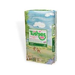 Tushies The Gel-Free Diaper, Toddler, 27+ Lbs. 20 ea