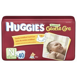 Huggies Newborn Diapers Starter Set, 40-Count (Pack of 2)