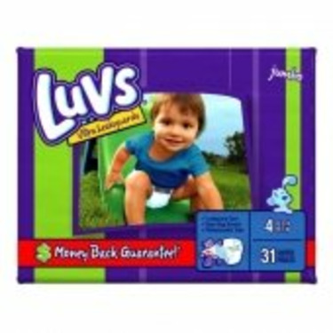 Luvs Ultra Leakguards Diapers, Size 4, 31 Count