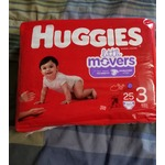 Huggies Little Movers Diapers - Size 3 - 31 Count