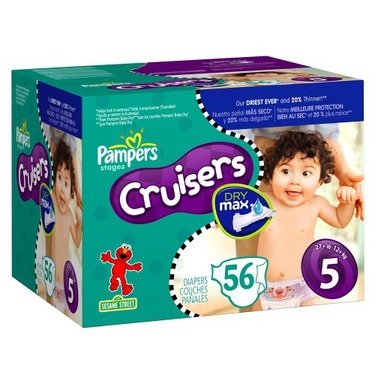 Pampers Cruisers Dry Max Diapers