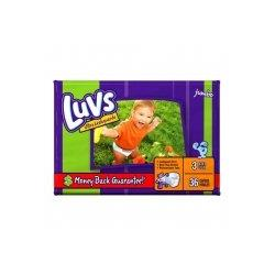 Luvs Ultra Leakguards Diapers, Size 3, 36 Count