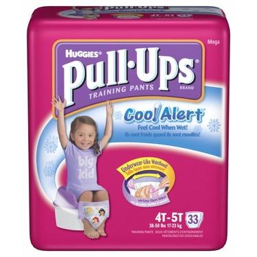 Girls' Pull-Ups Cool Alert Training Pants 33-pk. - 4T/5T