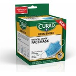 Curad Germ Shield Medical Grade Face Mask with Ear Loops (10)
