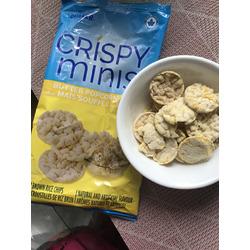 Quaker Crispy Minis Gluten-Free Butter Popcorn Rice Chips