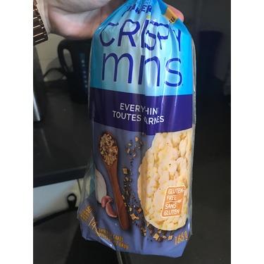 Quaker Crispy Minis Gluten-Free Everything Rice Cakes