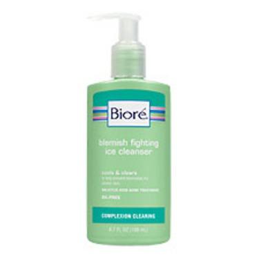 Biore's Blemish Fighting Ice Cleanser
