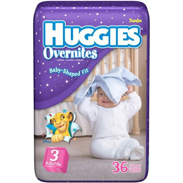 Huggies Overnites Diapers - Jumbo Pack - 5