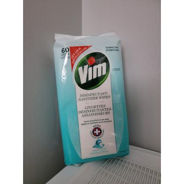 VIM Disinfectant-Sanitizer Wipes