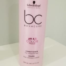 Schwarzkopf BC Bonacure PH 4.5 Color Freeze Conditioner for Colored Hair