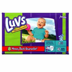 Luvs Ultra Leakguards Baby Diapers, Size 2, 42 Count