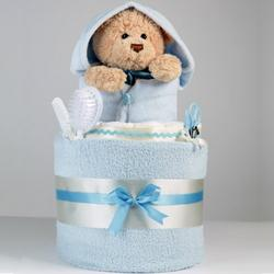 Baby Bath Time - Blue