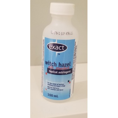 Exact Witch Hazel Topical Astringent