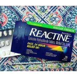reactine regular strength 24 hour relief