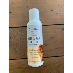 Martha Stewart natural nose and paw lotion