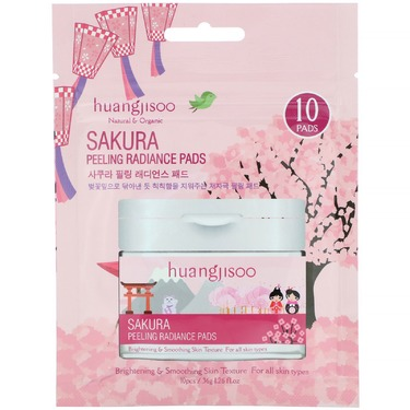 Huangjisoo Sakura Peeling Radiance Pads