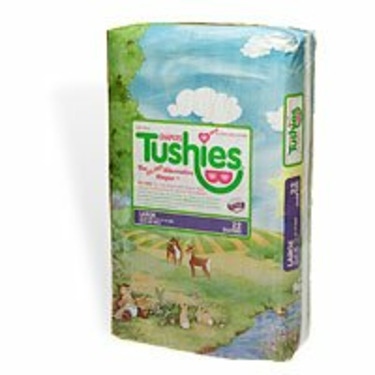 Tushies The Gel-Free Diaper, Large, 22-35 Lbs. 22 ea