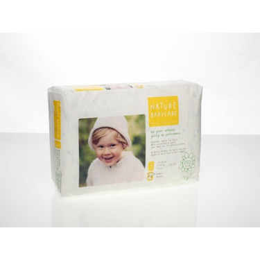 Nature Babycare Eco-Friendly, Chlorine Free Diapers, Size 3 (16-28 Lbs), 136 Diapers
