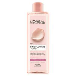 l'oreal paris fine flowers toner dry/sensitive skin