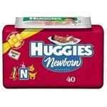 Huggies Newborn Diapers Starter Set, 40-Count