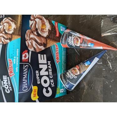 Chapman's Twister Super Cone Ice Cream with Caramel Centre