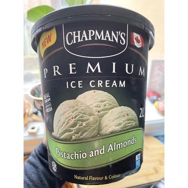 Chapman's Premium Pistachio and Almonds Ice Cream