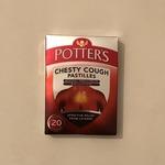 Potters Chesty Cough Pastilles