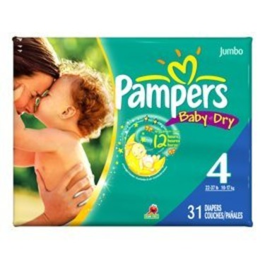 Pampers Diapers Size 4 31's