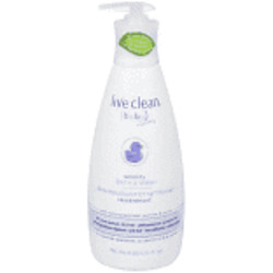 Live Clean (baby) Calming Bedtime Bubble Bath and Wash-Lavender