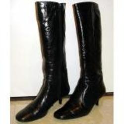 Feet First Long Black Boots