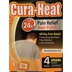 Cura Heat Pain Relief Heath Patch