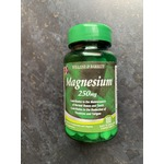Holland and Barret Magnesium 250mg