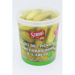 Strub's Baby Dill Pickles