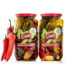 Simply Strub's artisanal-style Hot & Spicy pickles-