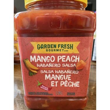 Garden Fresh Gourmet Mango Peach Habanero Salsa