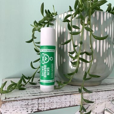 Green goo skin repair salve