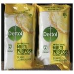 Dettol Citrus Zest Surface Wipes
