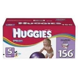 Huggies Snug & Dry Size 5, 156 Count
