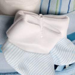 Baby Big Bottle Diaper Cake - Blue