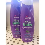 AUSSIE MIRACLE WAVES SHAMPOO AND CONDITIONER