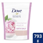 Dove Peony and Rose Bath Salt