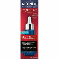 L'Oreal Paris, Revitalift Night Serum with Pure Retinol, 0.3%