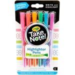 Crayola Take Note Highlighter Pens