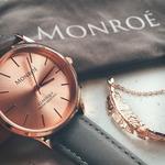 Monroe Classique Watch (Sunburst Solerose)