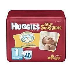 HUGGIES SUPREME L/S STEP 1 Size: 4X40