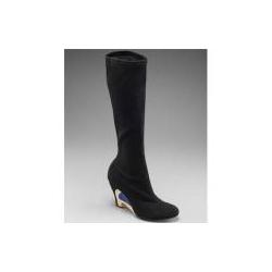 Emilio Pucci Stretch Suede Knee Boot