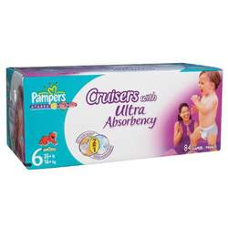 Pampers Stages Cruisers with Ultra Absorbency