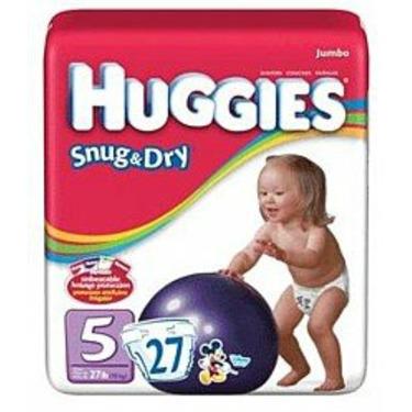 HUGGIES SNUG/DRY STEP 5 55505 Size: 4X27