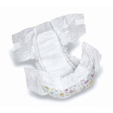 Dry Time Disposable Baby Diapers Case of 120 Fits Over 35 lbs